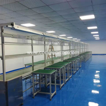 Aluminium Frame Food And Beverage Belt Conveyor System